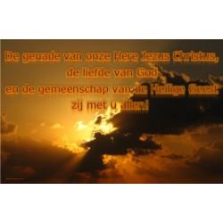 Zegen 2 Cor 13,13